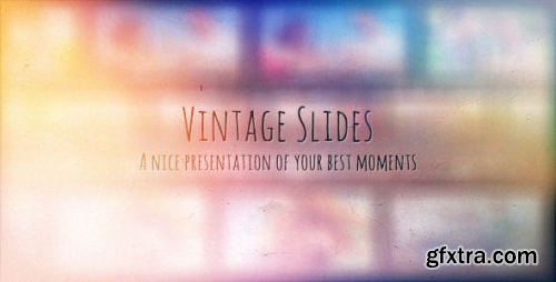 Videohive Vintage Slides - Photo Gallery 8884395