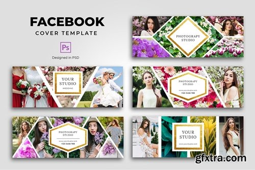 Facebook Photography Cover Template