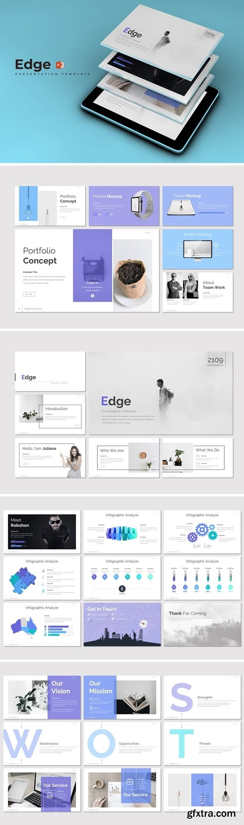 Edge Powerpoint Google Slides and Keynote Templates