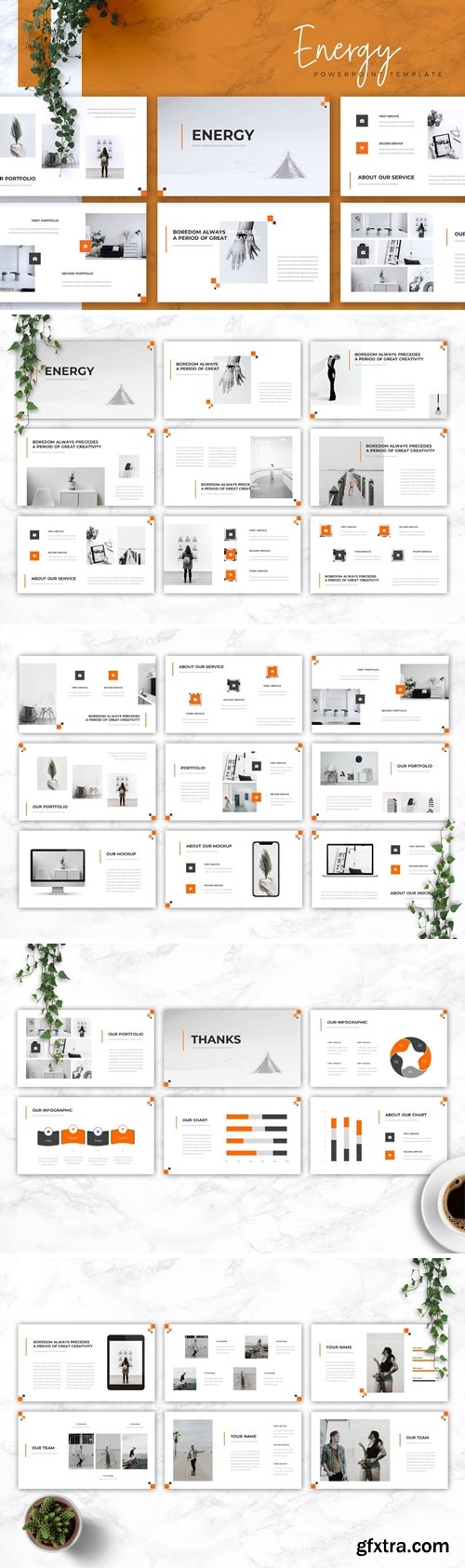 ENERGY - Creative Powerpoint Google Slides and Keynote Templates