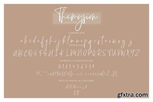 Themysion Signature Handwriting