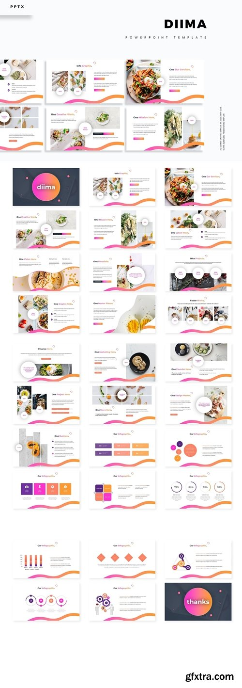 Diima Powerpoint Google Slides and Keynote Templates