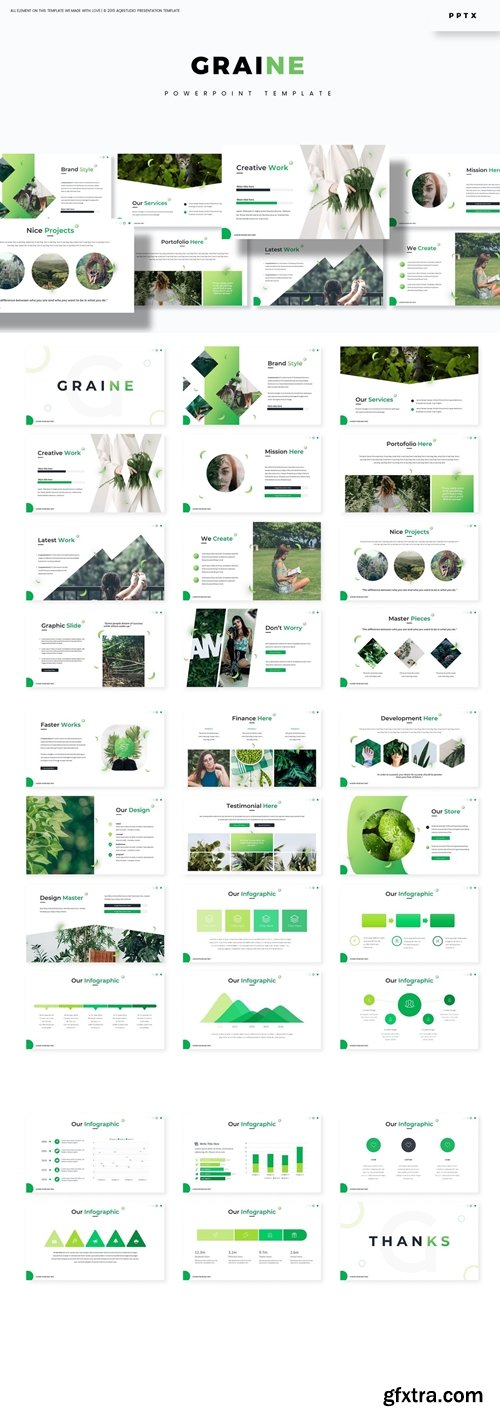 Graine Powerpoint Google Slides and Keynote Templates
