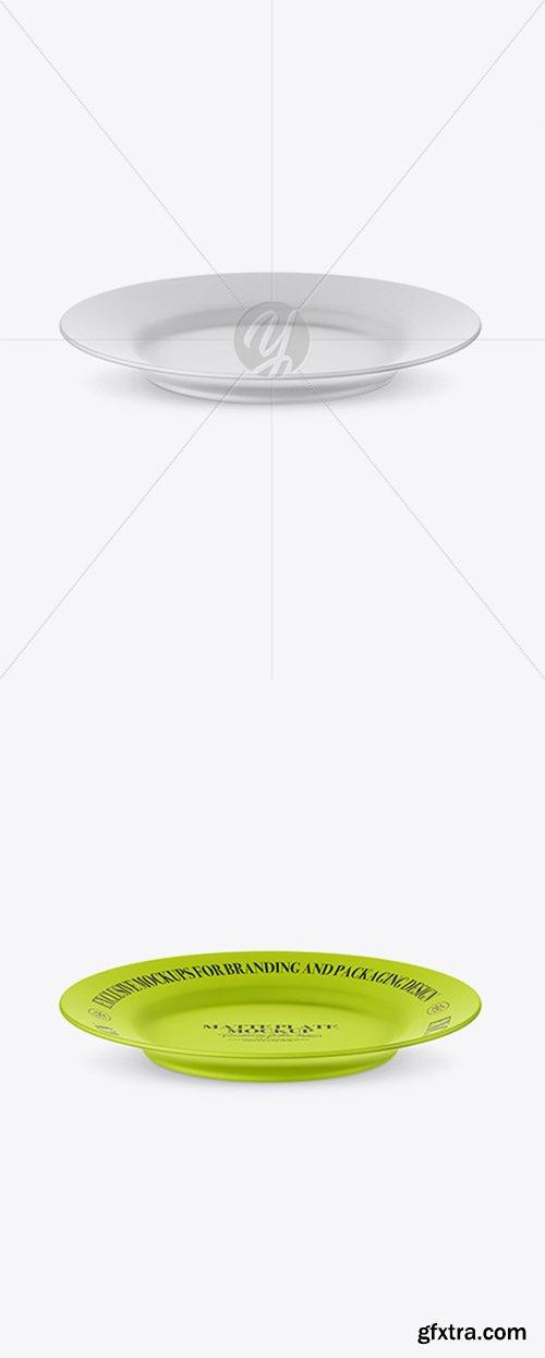Matte Plate Mockup (High-Angle Shot) 25135