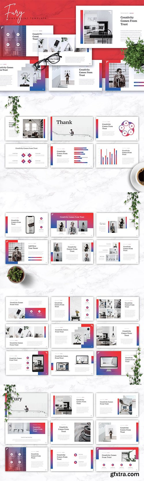 FURY - Creative Powerpoint, Keynote and Google Slides Templates