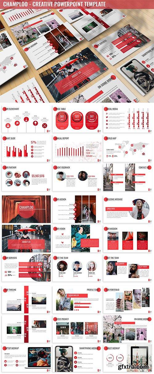 Champloo - Creative Powerpoint Template
