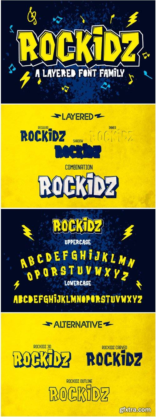 Rockidz Font
