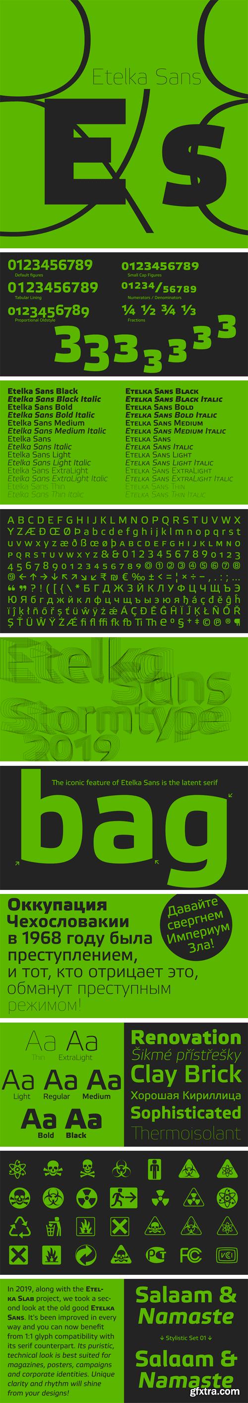 Etelka Sans Font Family (Updated 2019)
