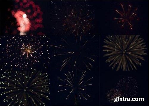 Firework Overlays by Jamie Dalton Photography