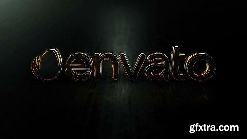 Videohive Black Elegant Logo Reveal 21824021