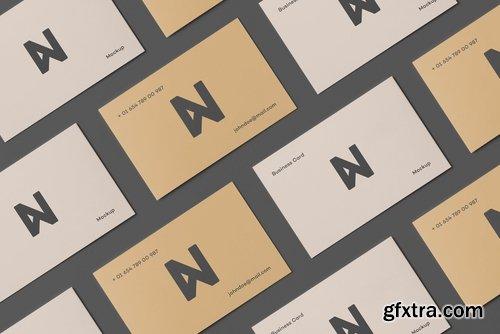 Bi-Fold Business Card Mock-up 2