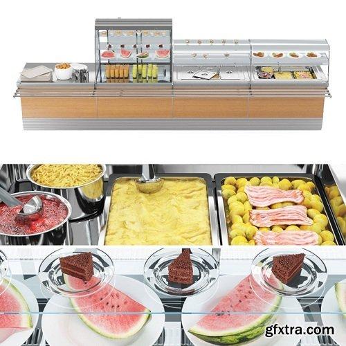 SIFA Lunch bar 3D Model