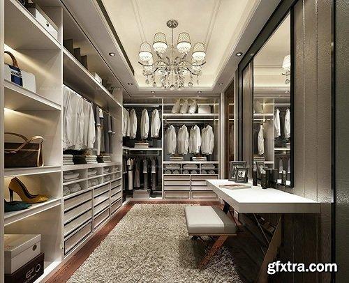 Dressing Room Wardrobe Interior