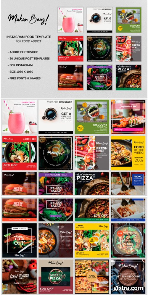 Makan Bang! Instagram Food Template 1531109