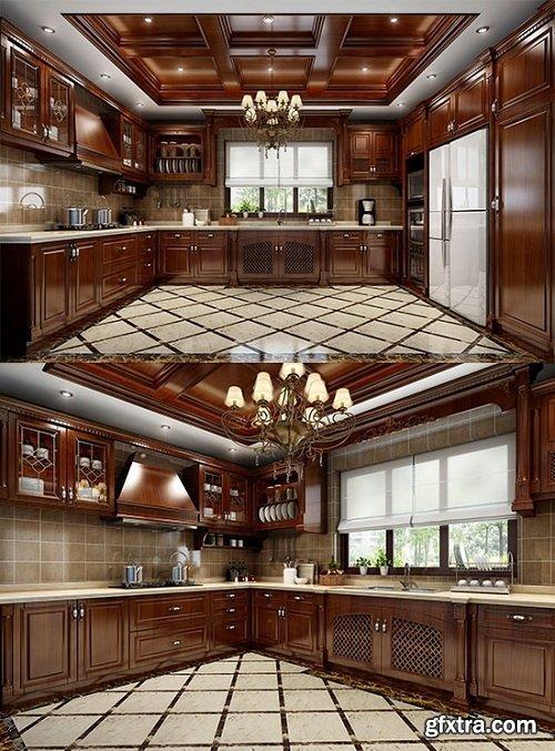 Kitchen 41 3d Model