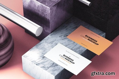 Business Card Mock-Up Template
