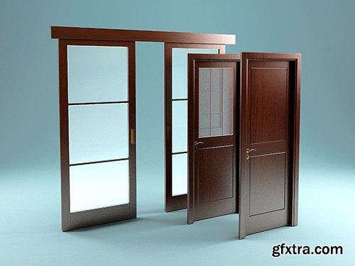 Cgtrader - Garofoli Doors 2 3D Model