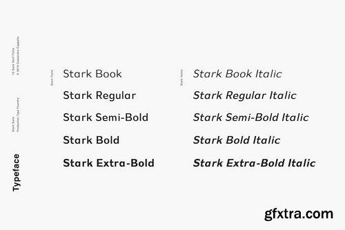 Stark - A Modern Sans Serif 3888273