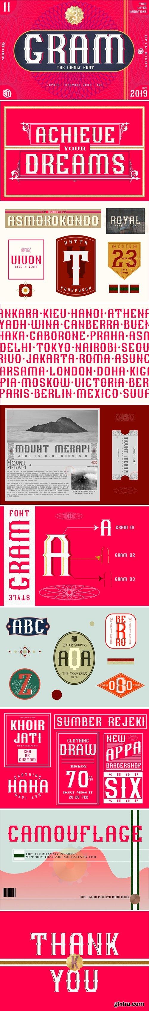 CM - GRAM - New Font Display 3527448