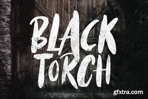 CM - Black Torch - Dry Brush Font 3888438