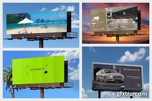 3 Billboards Mockup Pack