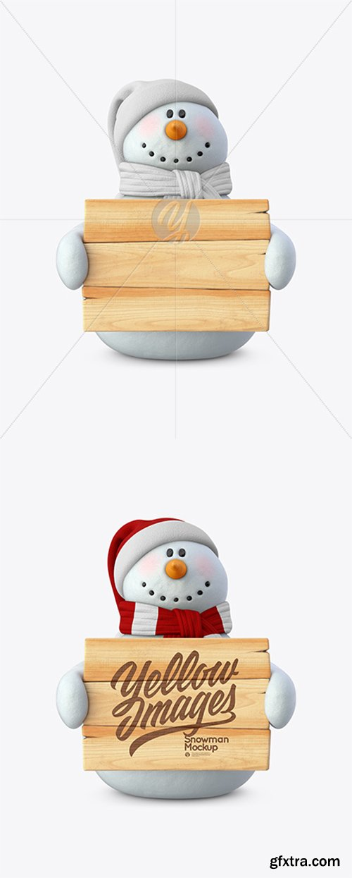 Snowman Mockup 37218