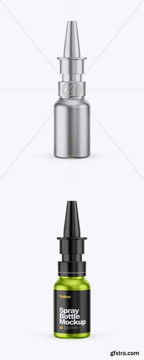 Metallic Spray Bottle Mockup 38173