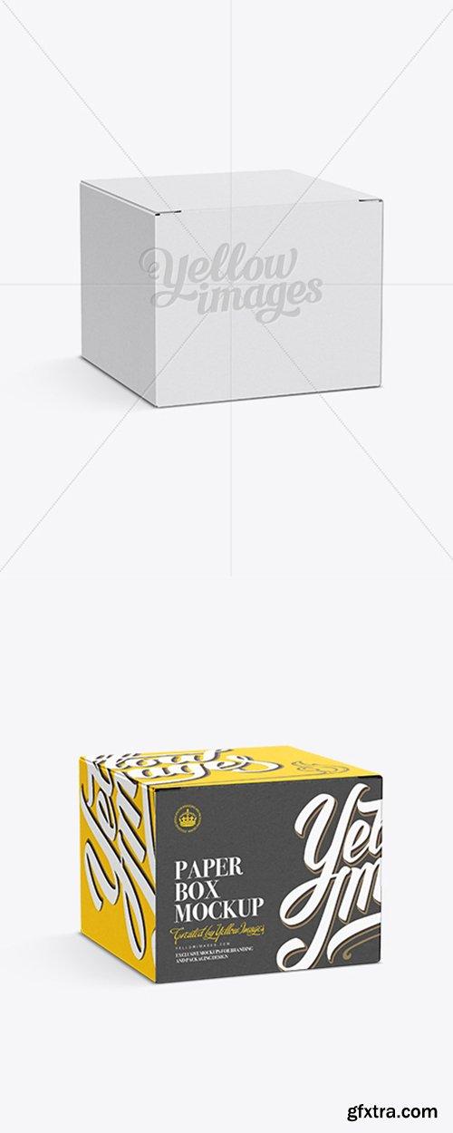 50ml Box Mockup Half-Side View 11549