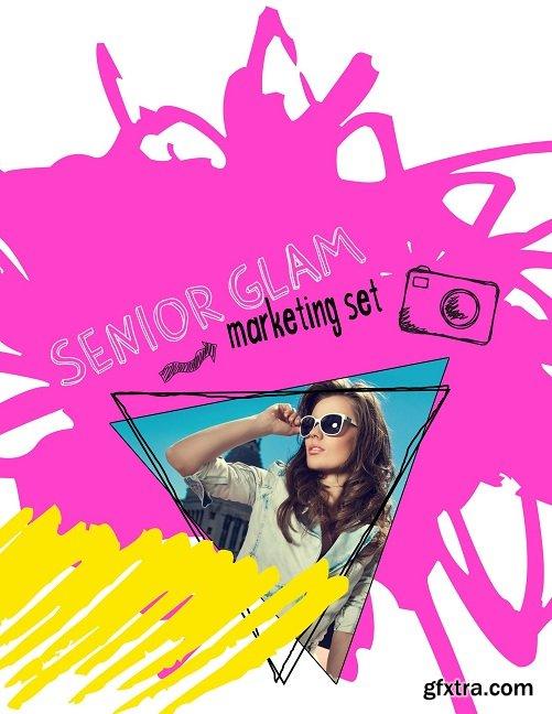 Senior Glam Marketing Set