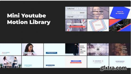Mini YouTube Motion Library V.2 241760