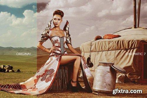 10 Cinematic Looks Photoshop Actions