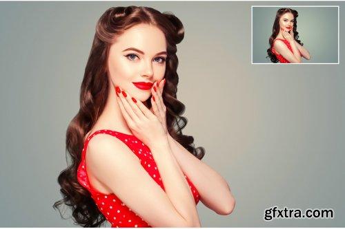 7 Skin Retouching Photoshop Action