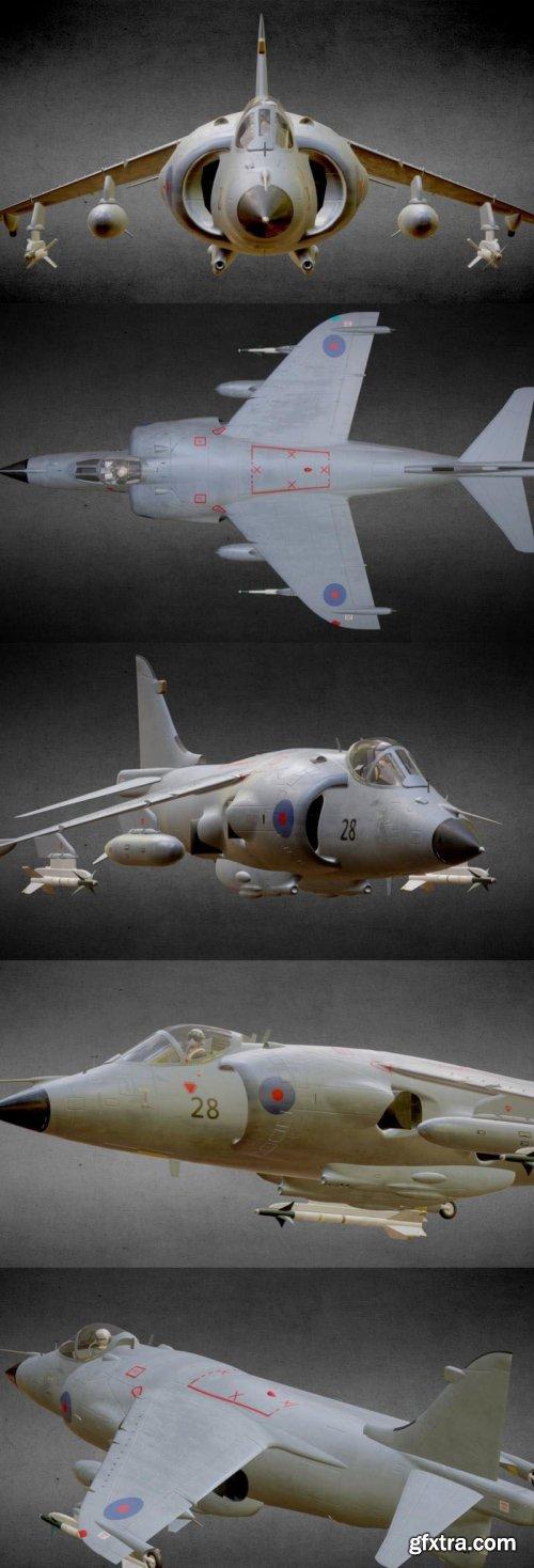 Sea Harrier FRS.1 – 3D Model