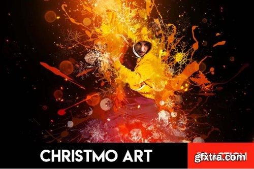 Christmo Art Photoshop Action