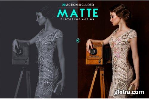 20 Matte Photoshop Action