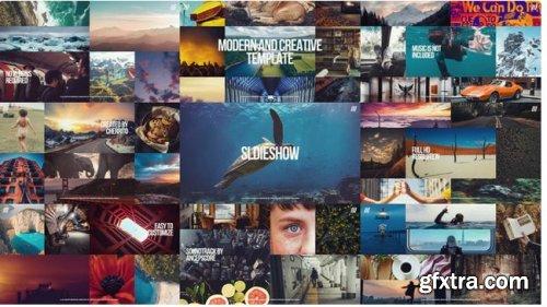 Creative Multiframe Upbeat Slideshow 244075