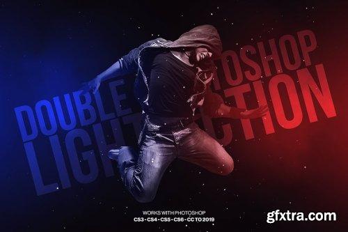 CreativeMarket - Double Light Photoshop Action 3183093