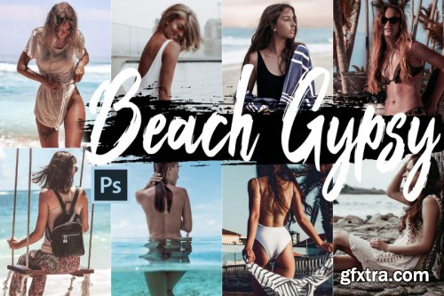 Neo Beach Gypsy Color Grading photoshop actions