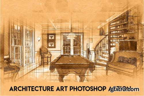 Architecture Art Photoshop Action