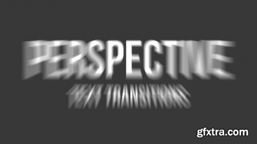 Perspective Bounce Text Transitions 246056