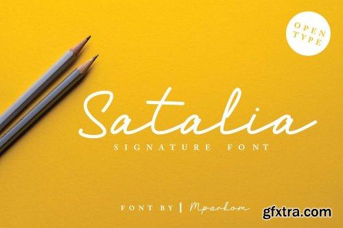 CreativeMarket - Satalia Signature 3855542