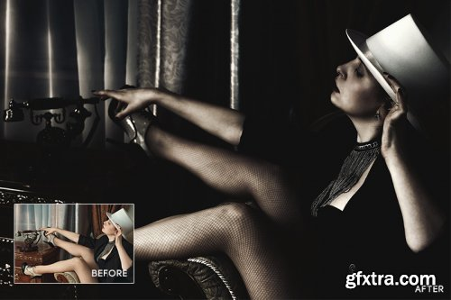 Dark Fashion Photoshop Action