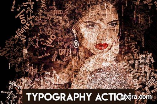 Typography Photoshop Action