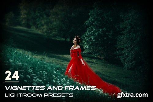 24 Vignettes and Frames Lightroom Presets