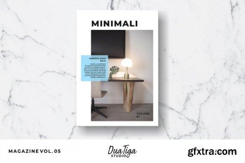 CreativeMarket - Magazine Template Vol. 05 3818697