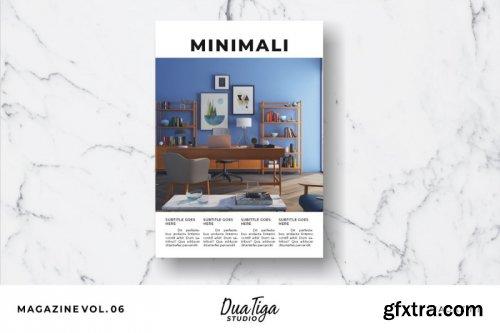 CreativeMarket - Magazine Template Vol. 06 3818706
