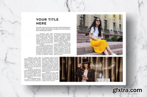 CreativeMarket - Magazine Template Vol. 07 3821097