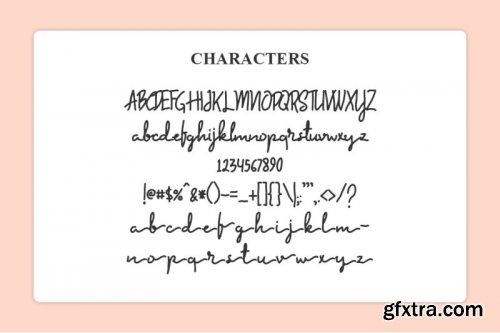 Sambara Handwriting Font