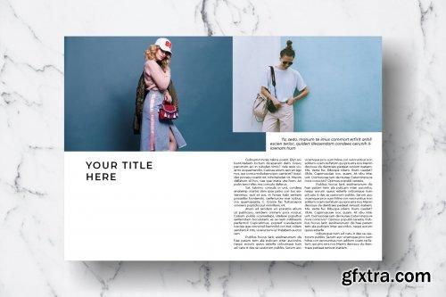 CreativeMarket - Magazine Template Vol. 09 3821164