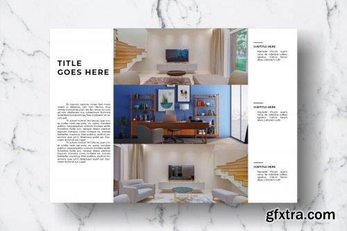 CreativeMarket - Magazine Template Vol. 10 3828955
